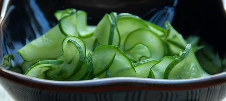 Sunomono: salada de pepino (receita)