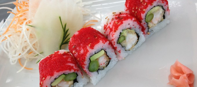 Ovas: as bolinhas coloridas do sushi!