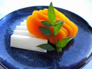 Sashimi de Karasumi - botarga